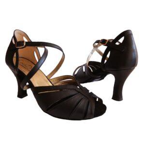 Flamencoskor, skor till flamenco, svart skor, flamenco, skor