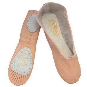 Balettskor med splitsål