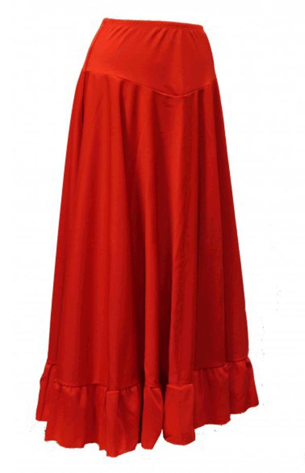 Nederdel til dans kan bruges til flamenco.
