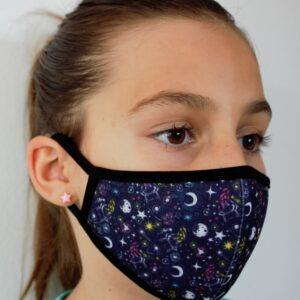 Barnmunskydd, munskydd i tyg for barn.